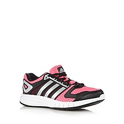 adidas - Pink 'Galaxy' mesh trainers