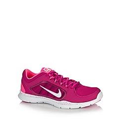 Nike - Dark pink 'Flex Trainer 4' trainers