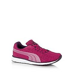 Puma - Dark pink 'Narita' running trainers