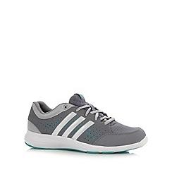 adidas - Grey 'Ariana III' trainers