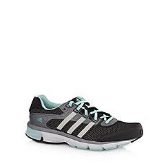 adidas - Black 'Nova' mesh running trainers