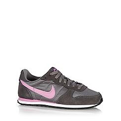 Nike - Grey 'Genico' suede trainers