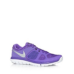 Nike - Purple 'Flex 2014 Run' trainers