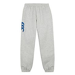 Canterbury - Boy's grey cuffed jogging bottoms