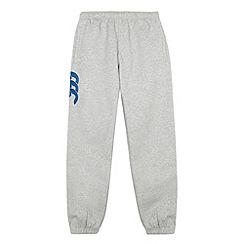 Canterbury - Boy's grey cuffed jogging bottoms