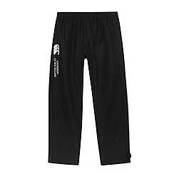 Canterbury - Boy's black woven jogging bottoms