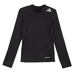 adidas - Boy's black fitted thermal top