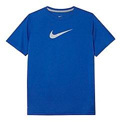Nike - Boy's blue 'Legend' t-shirt