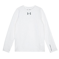Under Armour - Boy's white thermal top