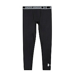 Under Armour - Girl's black fitted performance leggings