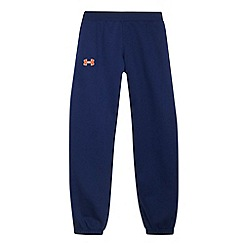 Under Armour - Boy's navy cuffed jogging bottoms