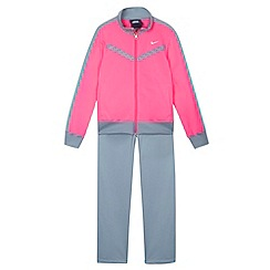 Nike - Girl's neon pink tracksuit