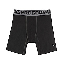 Nike - Boy's black 'core' compression shorts