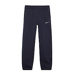 Nike - Boy's navy 'N45' cuffed jogging bottoms