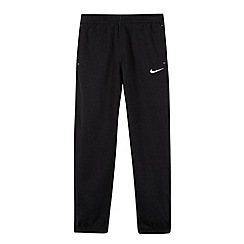 Nike - Boy's black ribbed cuff joggers