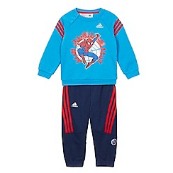 adidas - Babies blue 'Spider-Man' tracksuit