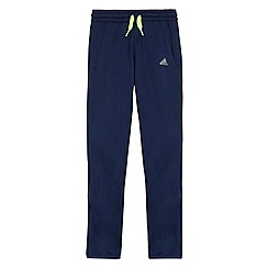 adidas - Boy's navy jogging bottoms