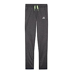 adidas - Boy's dark grey jogging bottoms