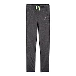 adidas - Boy's dark grey jogging bottoms