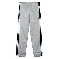 adidas - Boy's grey jogging bottoms