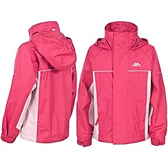 Trespass - Pink 'Sooki' Rainwear Jacket