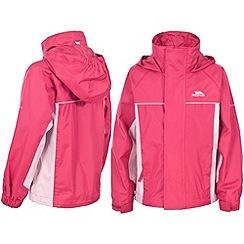 Trespass - Pink 'Sooki' Rainwear Jacket