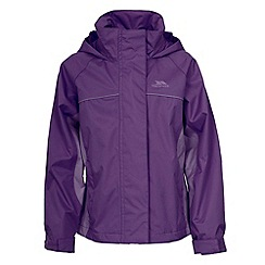 Trespass - Purple 'Sooki' Rainwear Jacket