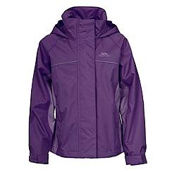 Trespass - Purple 'Sooki' Rainwear Jacket