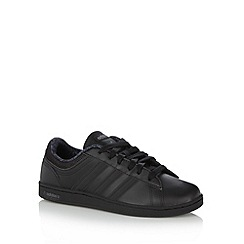 adidas - Boy's black 'Neo Derby' trainers