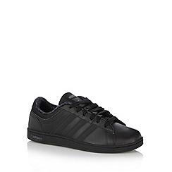 adidas - Boy's black 'Neo Derby' trainers