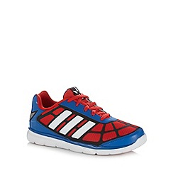 adidas - Boy's blue Spiderman trainers