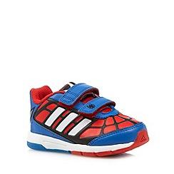 adidas - Boy's blue 'Spider-Man' trainers