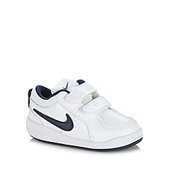 Nike - Boy's white 'Pico 4' trainers