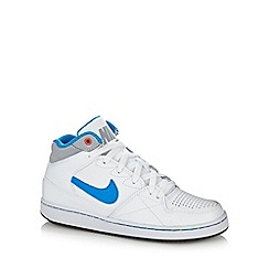Nike - Boy's white 'Priority Mid' trainers