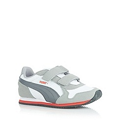 Puma - Boy's white 'ST Runner' trainers