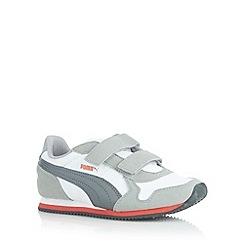 Puma - Boy's white 'ST Runner' trainers