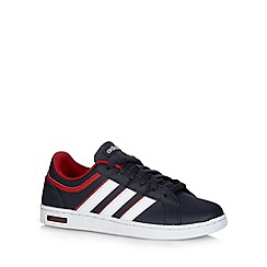 adidas - Boy's navy 'Derby Set K' trainers