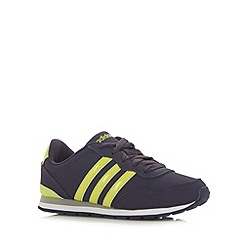 adidas - Boy's navy 'NEO Jogger' branded trainers
