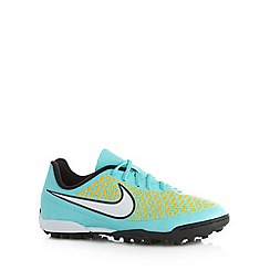 Nike - Boy's aqua 'Magista Ola' trainers
