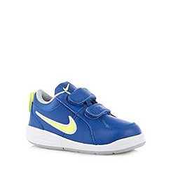 Nike - Boy's blue 'Pico 4' trainers