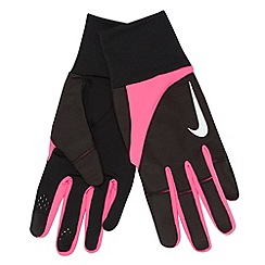 Nike - Bright pink 'Storm fit 2.0' running gloves