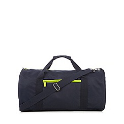 Canterbury - Navy logo barrel bag