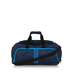 adidas - Blue three stripe medium duffle bag