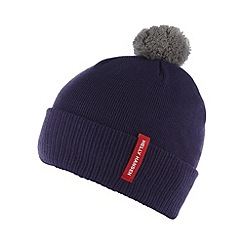 Helly Hansen - Purple knitted bobble hat