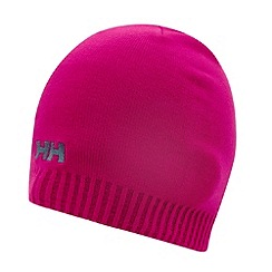 Helly Hansen - Pink embroidered logo knitted beanie