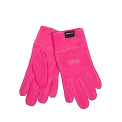 Helly Hansen - Pink 'Polartec' gloves