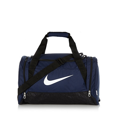 Nike - Navy sports small duffel bag