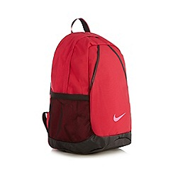 Nike - Pink mesh side backpack