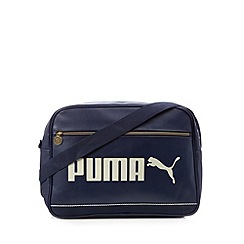 Puma - Navy logo campus bag