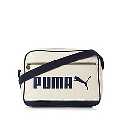 Puma - White logo campus bag